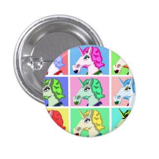 Bouton de licorne de bruit badge