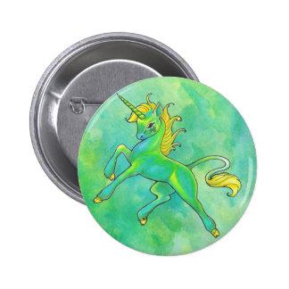 Bouton de licorne du jour de St Patrick Badges