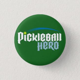 """Bouton de logo """"de héros de Pickleball"""" (vert) Badge"""