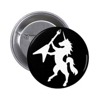 BOUTON de LOGO de licorne Badges