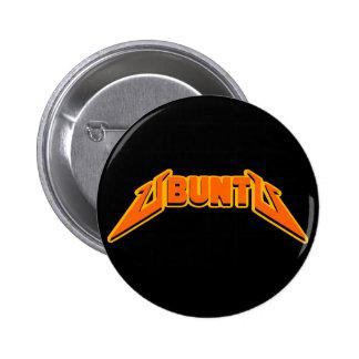 Bouton de logo de parodie de roche d'Ubuntu Badge Rond 5 Cm