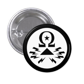 Bouton de logo de Telecomix Badges