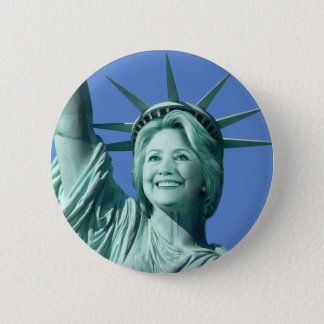 Bouton de Madame Liberty Hillary Clinton Badges