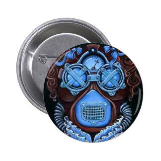 Bouton de mascarade de Steampunk Badge Rond 5 Cm