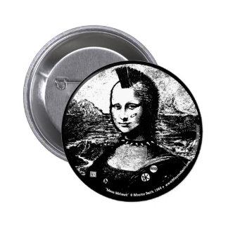 Bouton de Mohawk de Mona Badge