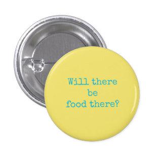 Bouton de nouveauté - y aura-t-il de la nourriture pin's