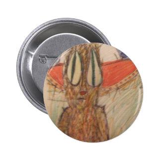 bouton de paix et d'amour badge rond 5 cm