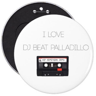 Bouton de Palladillo de battement du DJ Badges