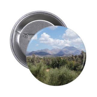 Bouton de paysage de montagne badges