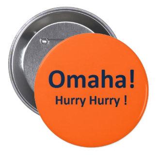 Bouton de Peyton Manning Omaha de Denver Broncos Pin's
