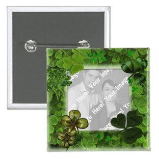 Bouton de photo du jour de St Patrick Badge