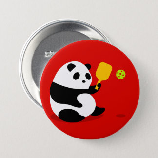 "Bouton de Pickleball : ""Panda de Pickleball "" Badges"