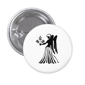 Bouton de pictogramme de zodiaque de Vierge Badges Avec Agrafe