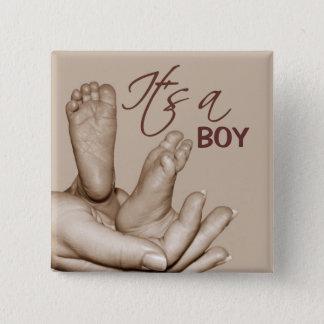 Bouton de pieds de bébé pin's