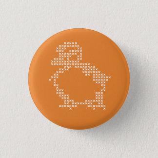bouton de point de croix pin's