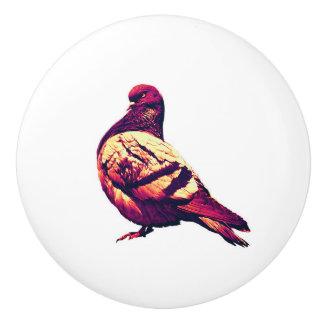 Bouton De Porte En Céramique Angry Pigeon Door and Drawer Handle