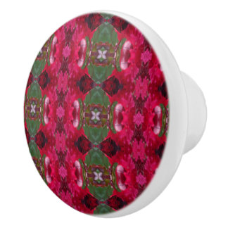 Bouton De Porte En Céramique Les vacances colorent le kaléidoscope