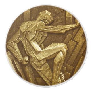 Bouton De Porte En Céramique Meubles vintages de sculpture en art déco