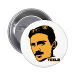 Bouton de portrait de Nikola Tesla Badges