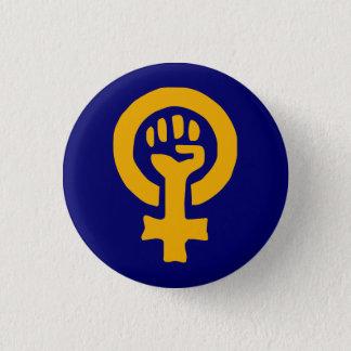 Bouton de puissance de femme badge