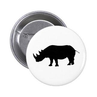 Bouton de rhinocéros badges