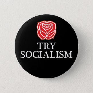 Bouton de socialisme d'essai badges