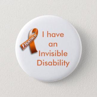 Bouton de soutien de sclérose en plaques badge
