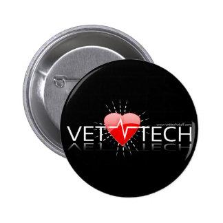 bouton de technologie de vétérinaire pin's