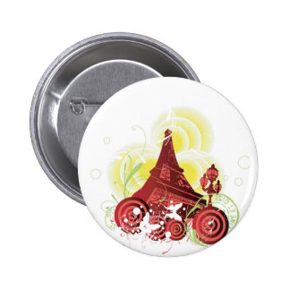 Bouton de Tour Eiffel Badges