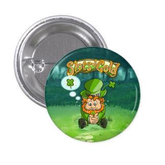 Bouton de trèfle de feuille de Tommy quatre petit Badges