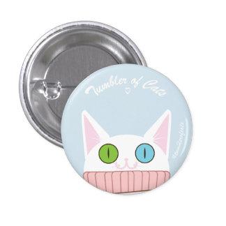 Bouton de TumblerofCats - babyblue blanc de Badge