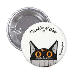 Bouton de TumblerofCats - citrouille TumblerCat Pin's