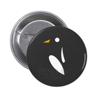 Bouton d'écrasement de pingouin badge