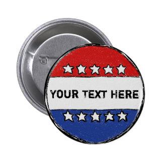 Bouton d'élection badge