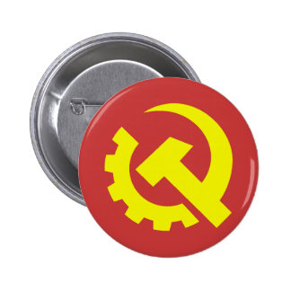 Bouton des Etats-Unis de parti communiste Badge