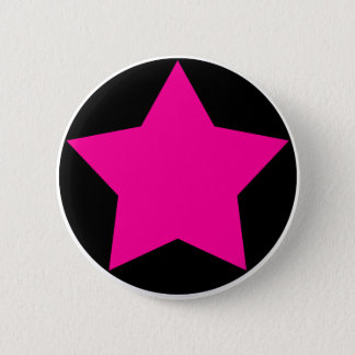 Bouton d'étoile d'Emo (rose) Pin's