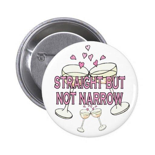 Bouton : Directement mais pas étroit Badge