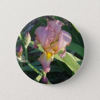 Bouton d'iris rond pin's