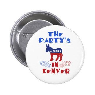 Bouton d'Obama de convention de DNC Pin's