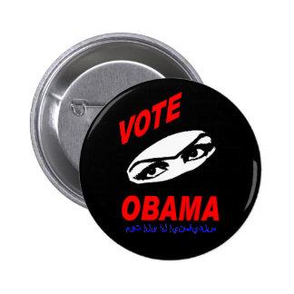 Bouton d'Obama Pin's
