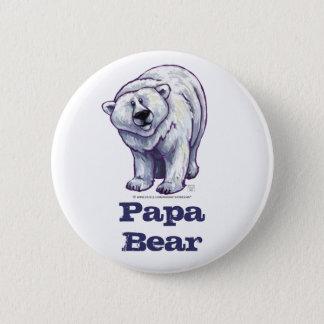 Bouton d'ours blanc d'ours de papa pin's