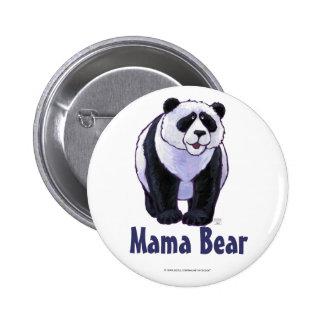 Bouton d'ours panda de maman Bear Badge Avec Épingle