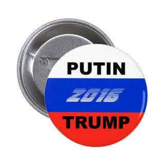 Bouton drôle de campagne d'atout (gradient 2016) badges