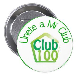 Bouton du club 100 badge