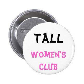 Bouton du club des femmes grandes badge rond 5 cm