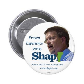 Bouton du gouverneur 2016 de Shap Smith Vermont Badge