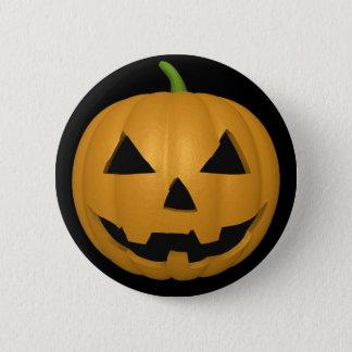 Bouton éffrayant de citrouille de Halloween Badge