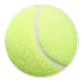 Bouton en céramique de balle de tennis