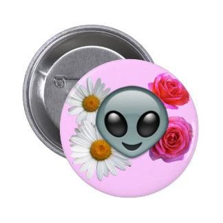 bouton étranger d'emoji badge