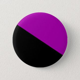 Bouton féministe de drapeau d'anarchiste badge